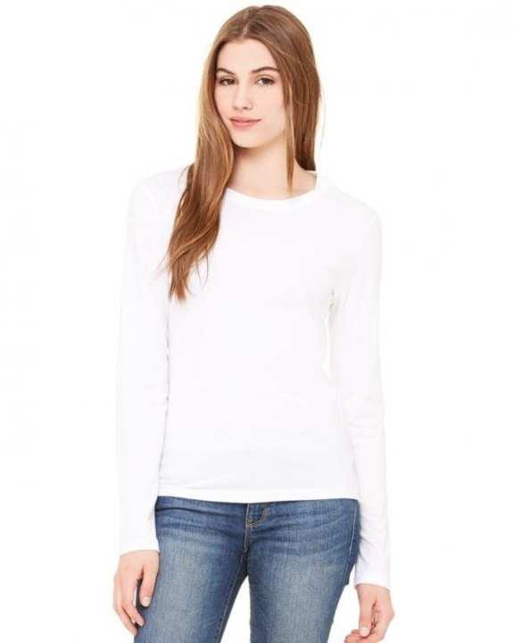 White Cotton T-Shirt For Women