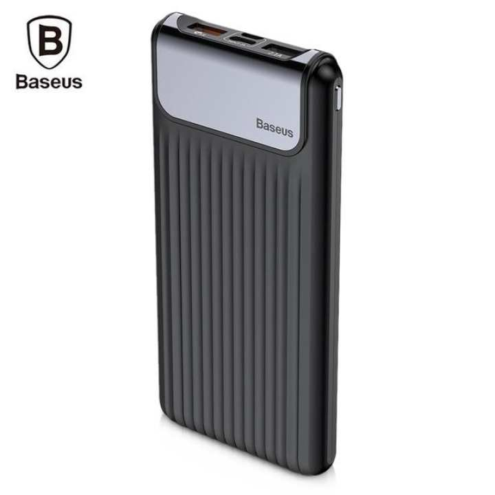 Baseus Thin QC3.0 M+T Daul input Digital display Power bank 10000mAh