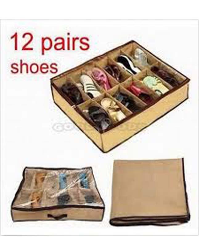 New Design Shoes Rack 12 Shoes Under Bed Storage By Deals 0d6a9e876