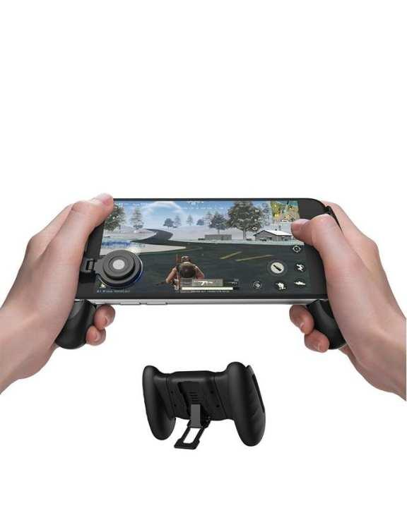 GameSir F1 Mobile PUBG Joystick Controller Grip Case for SmartPhones - Black