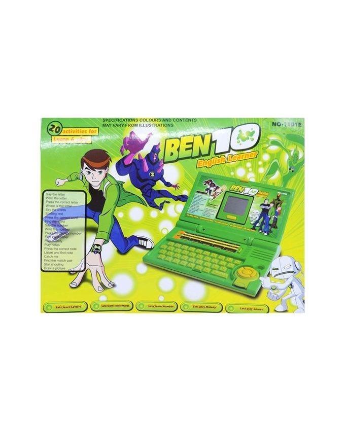 Ben 10 Learning Laptop - Green