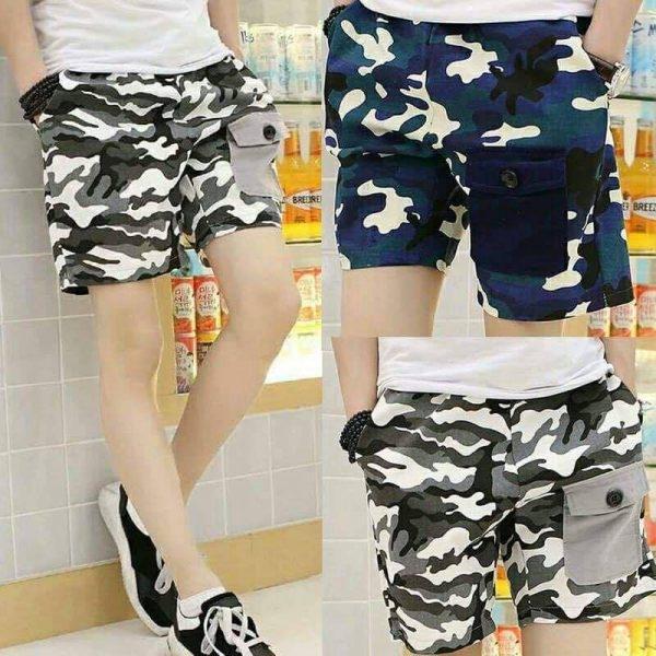 Pack Of 2 Commando Shorts
