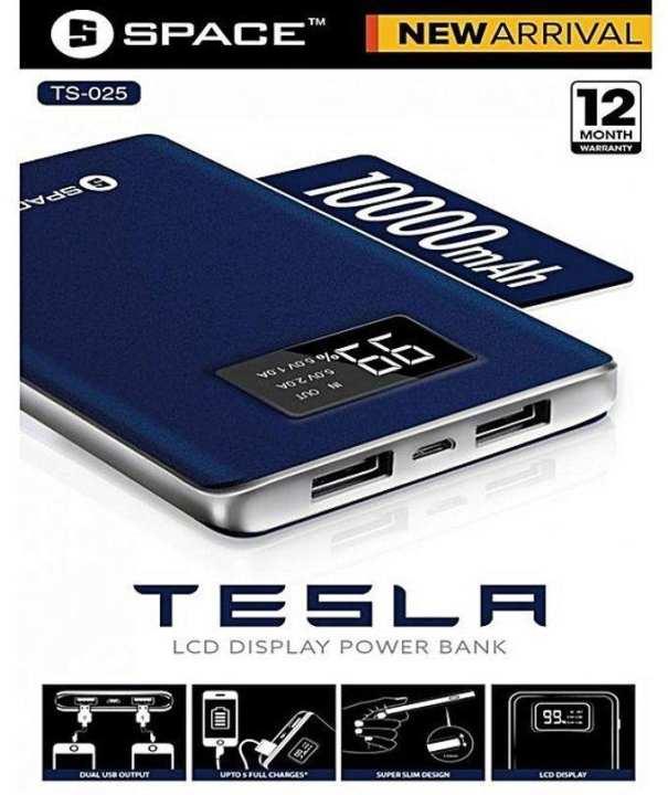 SPACE Tesla Model TS-025 1000mah Power Bank - Blue