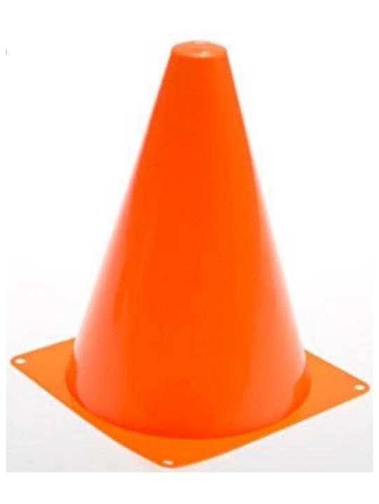 Football Training Cone Hockey 9 inch-12 pcs goal keeper shin