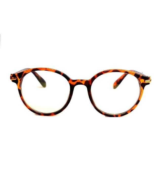 8bef456936f Buy Leopard Frame Clear Lens Fashion Glasses For Women-Clear ...