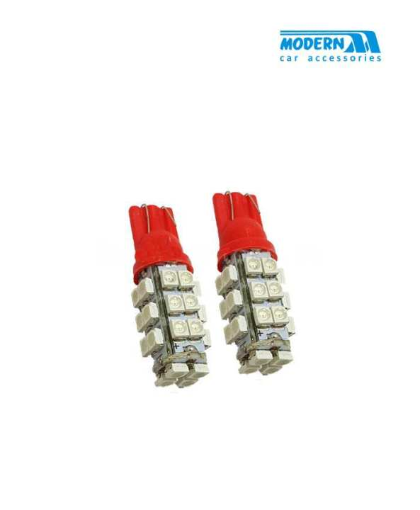 SMD 28 Parking Light Red - Pair