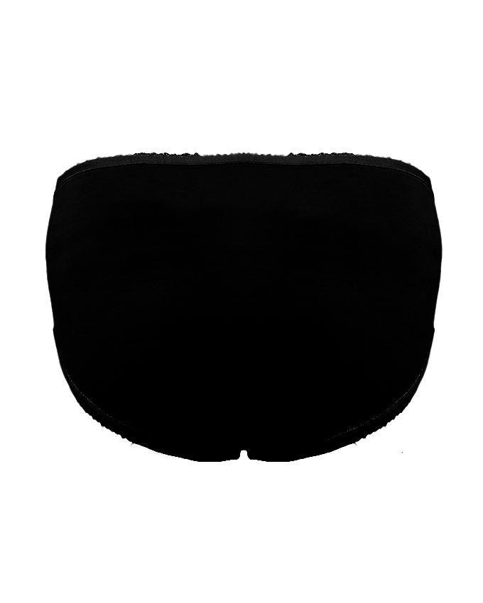 Skin & Black Pure Cotton Pack Of Two Underwear