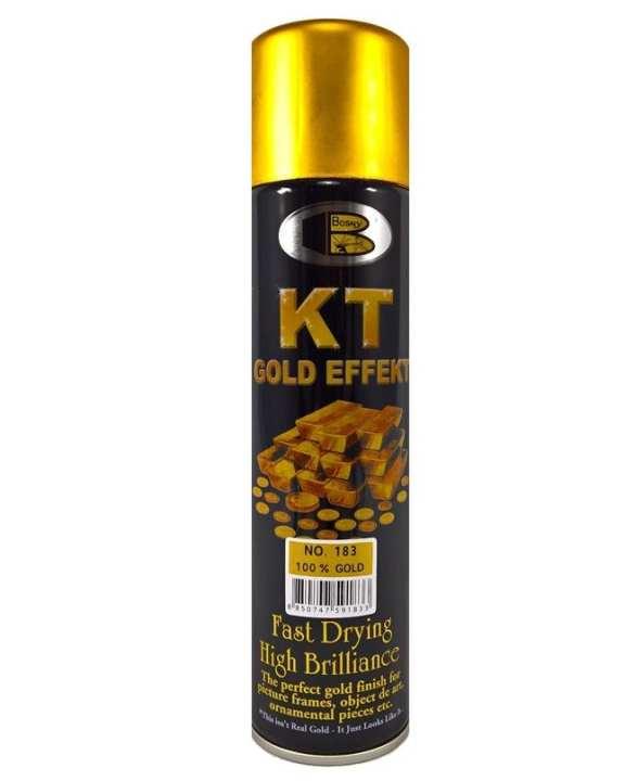 183 100% Gold Spray Paint-225G