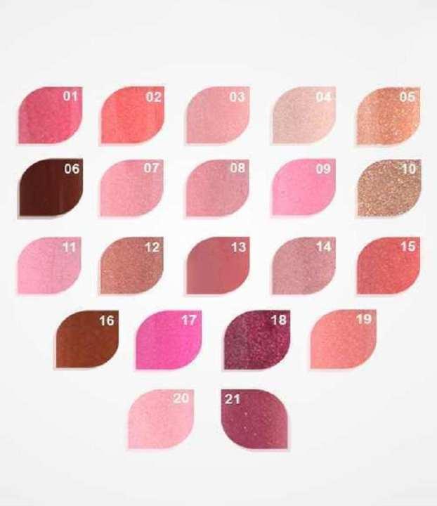 Sparkling Shine 3D Lip Gloss- MultiColor