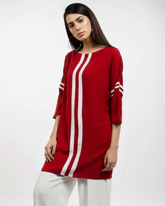 Multicolor Striped Shirt For Women