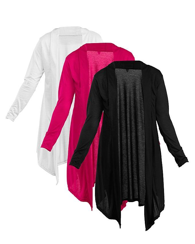 Pack Of 3 Viscose Shrugs For Women
