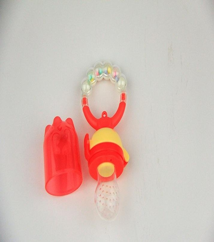 Baby Food Pacifier - Red