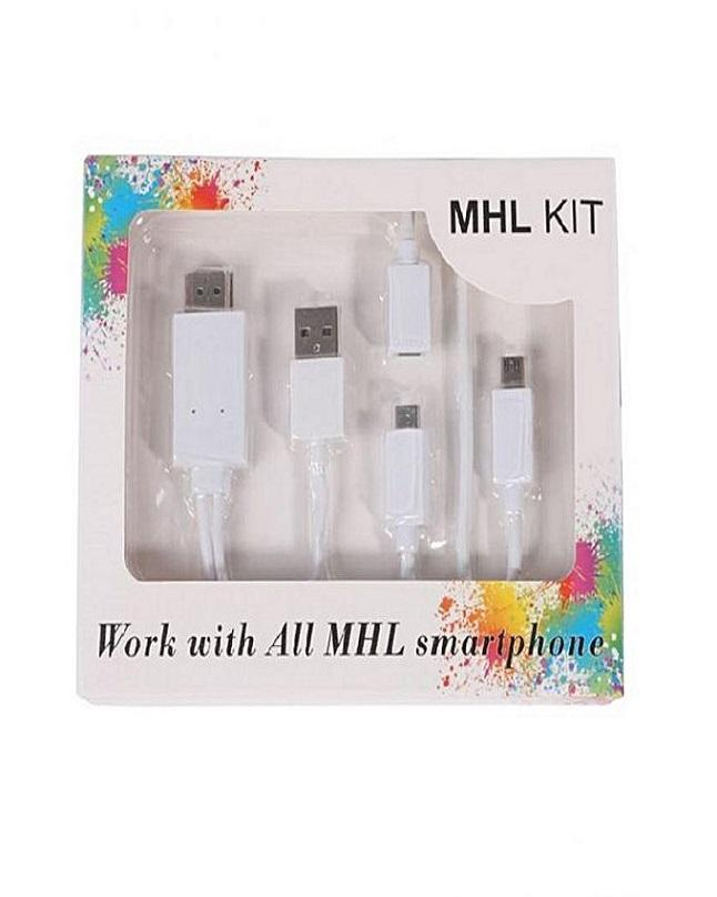 Charger For MHL Smart Phones - White