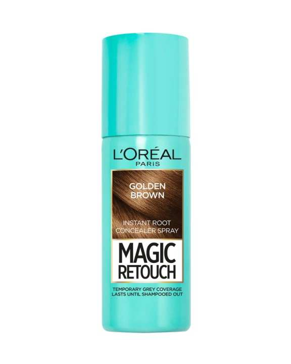 Magic Retouch Root Touch Up Hair Color Spray - Golden Brown 75ml