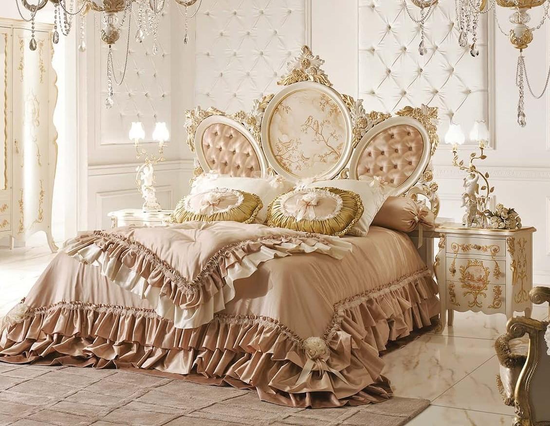 Bridal modern italian bed furniture set