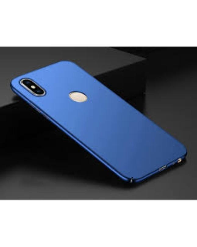 Back Cover For Infinix Hot S3 X573 Blue Soft Cover