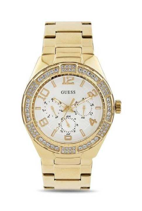 Guess Gold-tone Ladies Watch W0729l2