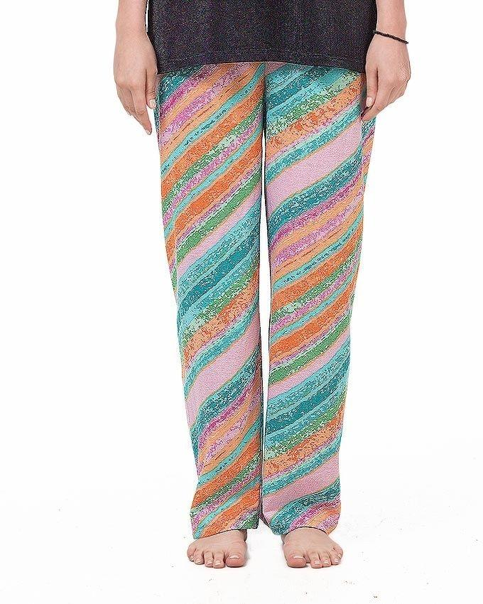 Pack of 4 - Multicolor Cotton Pajamas For Women