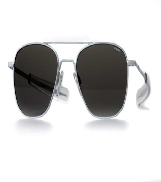 Randolph Engineering Aviator USA Sunglasses - Silver