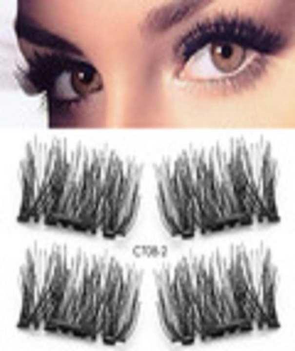 1 Pair 4Pcs Magnetic Eye Lashes