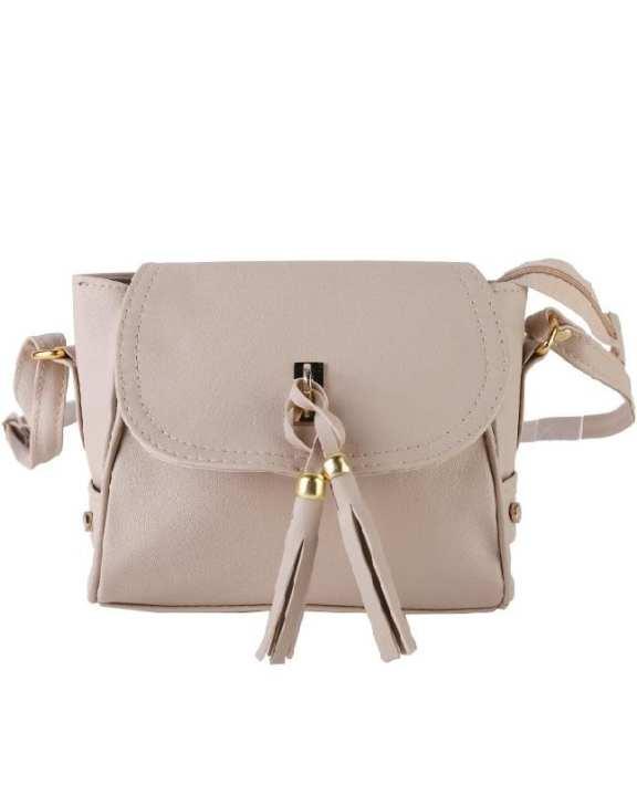 Grey Stylish Cross Body Hand Bag