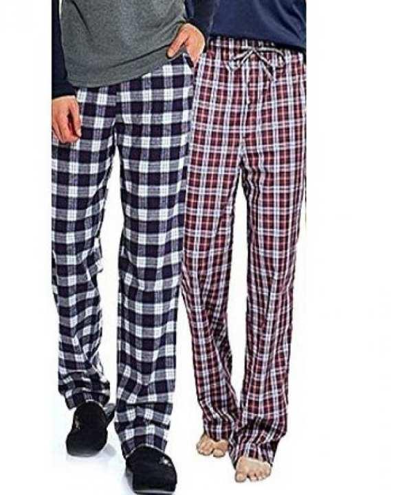 pack of 2  Multicolour Cotton Checkered Pajama