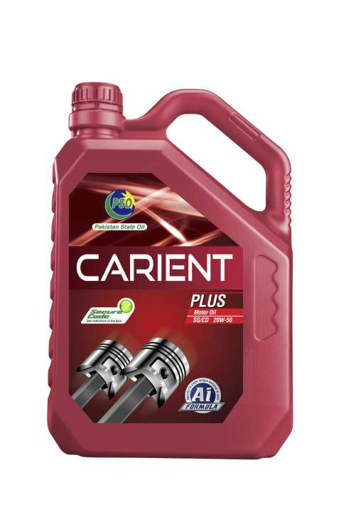 CARIENT PLUS SAE 20W50 API SG/CD (4 Liter Pack)