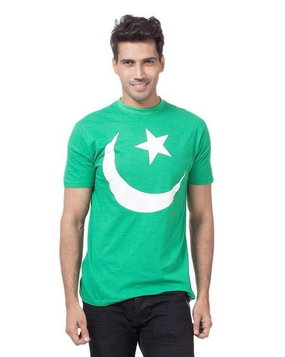 Green - Pakistan Flag Tshirt
