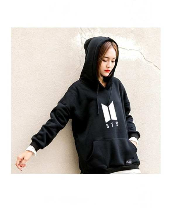 Black Fleece BTS Hoodies For Women