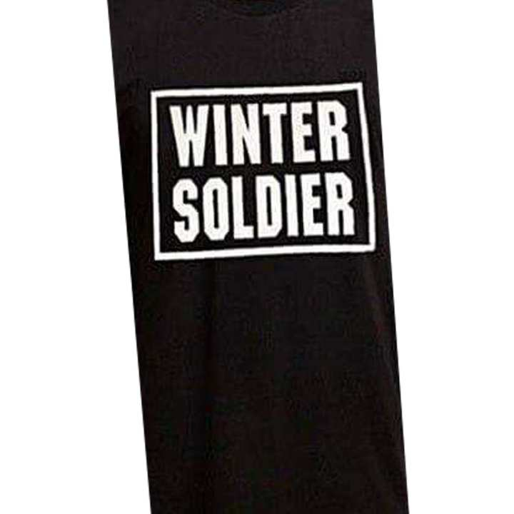 WINTER SOLDIER Printable Shirt Sticker for Boys
