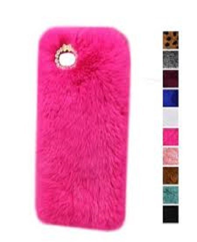 the best attitude a22bd 18a8d Samsung J5 2016 Pink Fur Fluffy Mobile Case
