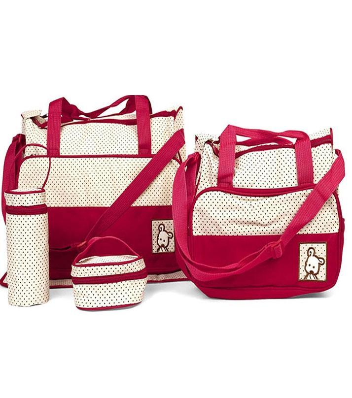 c4af579d296 Diaper Baby Bag Set -   5 Pcs