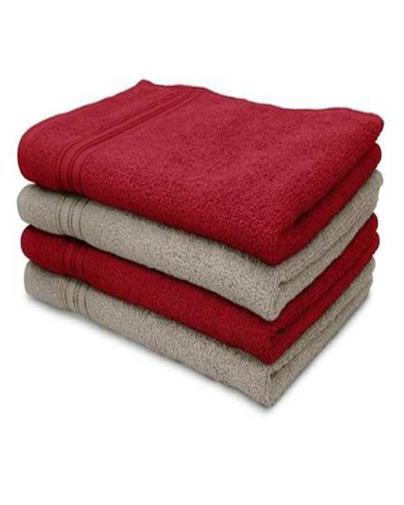 Pack Of 4 - Multicolor Cotton Towel