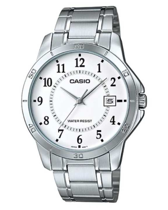 MTP-V004D-7BUDF - Stainless Steel Watch for Men