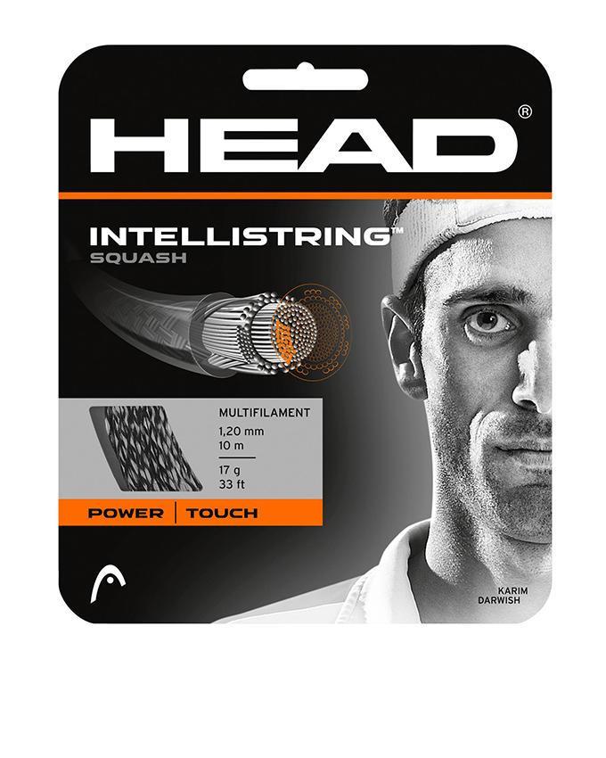 Intellistring 17 - Squash String Set - White