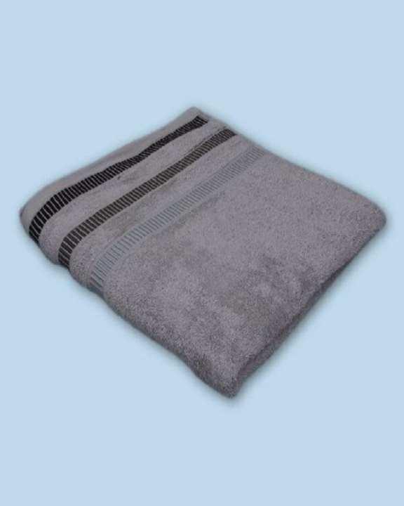 Plain Jacquard Bath Towel (27X54 Inch)