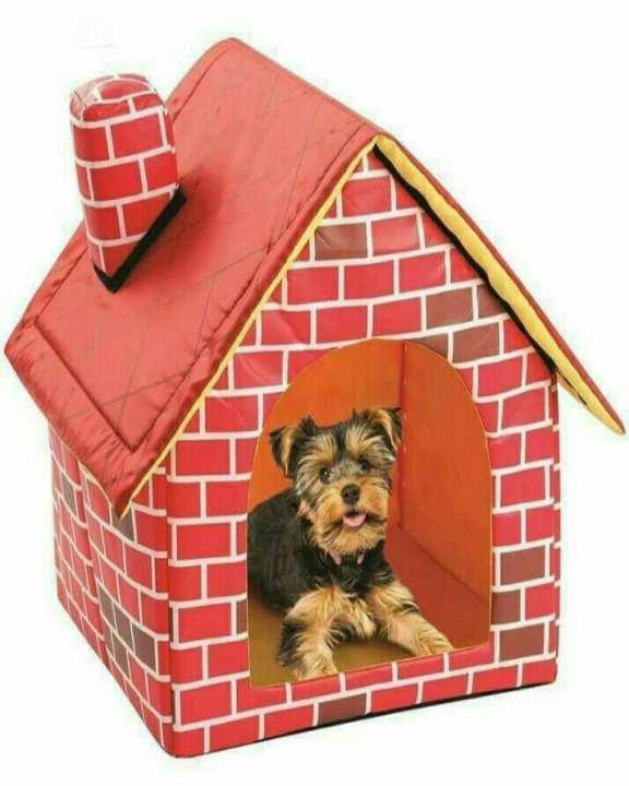 Soft-Sided Brick Pet House & Mat