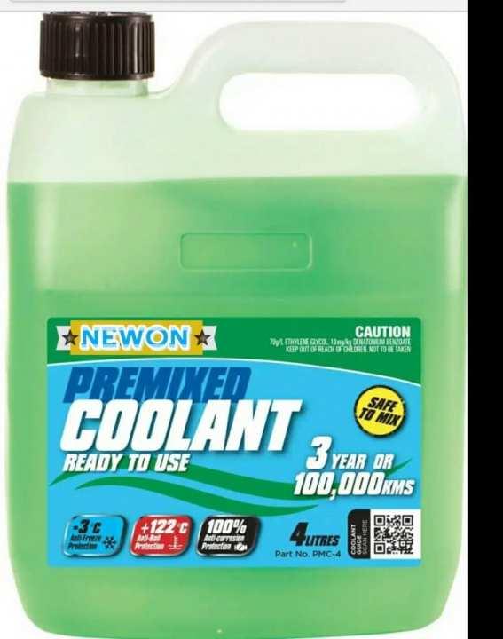 Radiator Coolent with extra heat Repellent