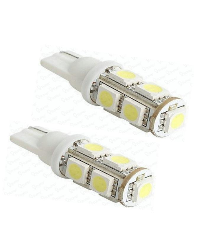 Pack of 2 - LED Parking Light For Cars -12 V - Multicolor
