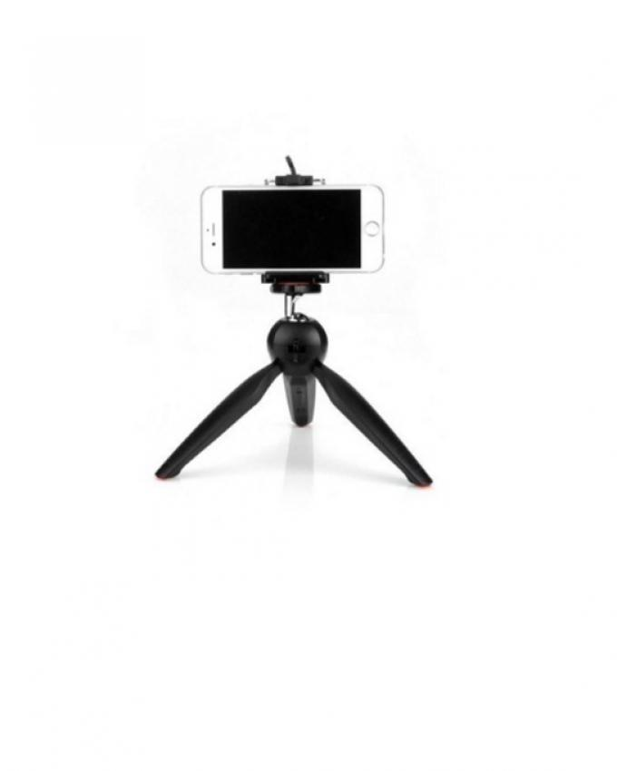 YT-1288 - Professional Selfie Stick with Tripod Stand - Black