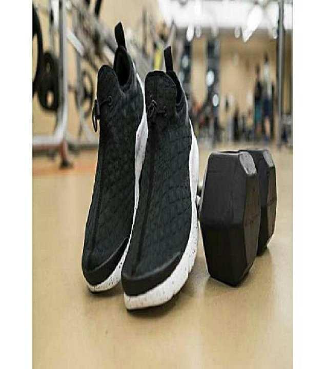 Black Stylish Sneakers For Men