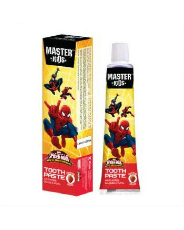 Pack Of 2 - Strawberry Spiderman Toothpaste for Kids 50G