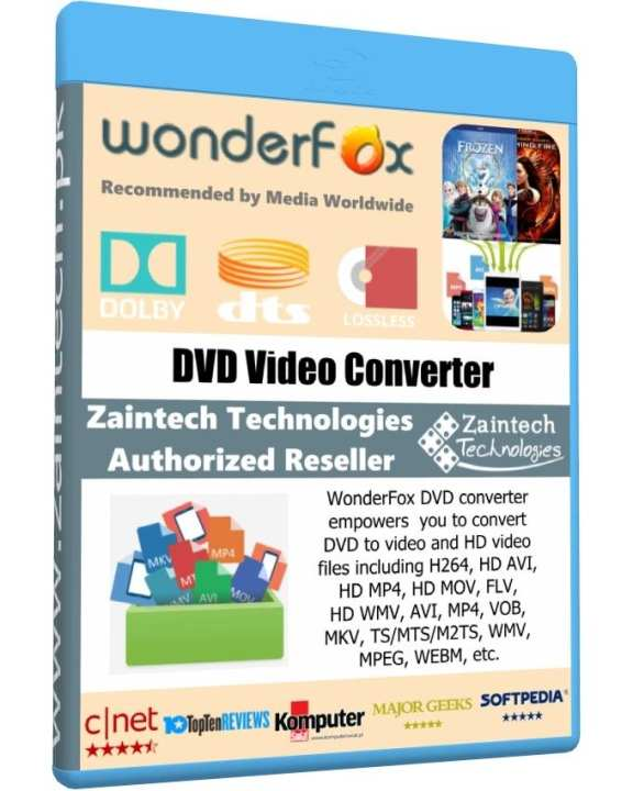 WonderFox DVD Video Converter - Family Pack License