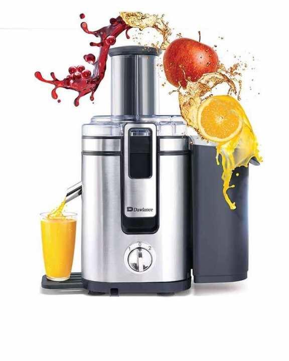 Whole Fruit Juicer - DWFJ 1002 - Silver & Black