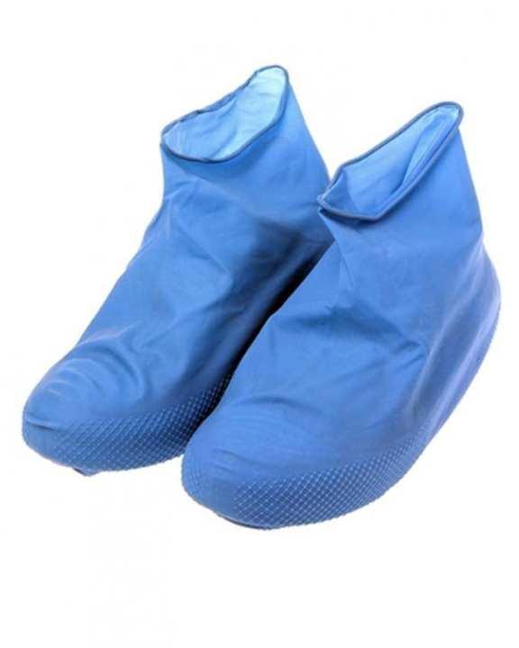 Latex Shoe Cover Waterproof - Outdoor Protector Tool - Blue