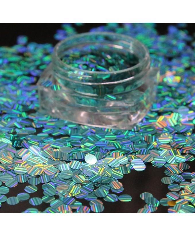3g Glitter Pot For Nails Light green