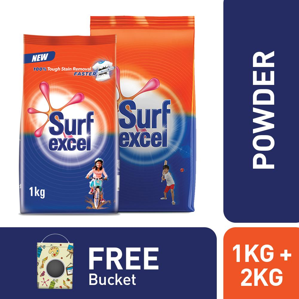 Laundry Products Online In Pakistan Daia Softergent Violet Free Barcode Bucket With Surf 1kg And 2kg