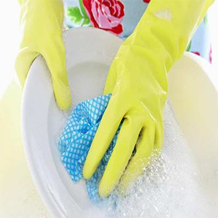 High Quality Firm Grip Kitchen Washing and Cleaning Gloves