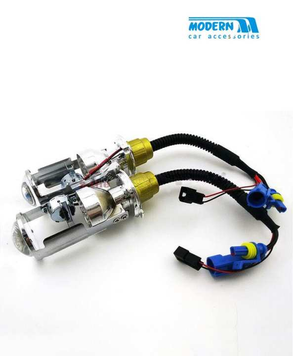 Projection Motorized H4 HID Bulbs