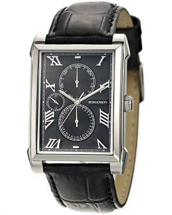 Romanson TL9225 MW BK - Wrist Watch for Men - Black